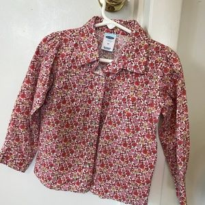 Old Navy floral button up